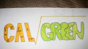Original Client Draft for Cal Green Logo