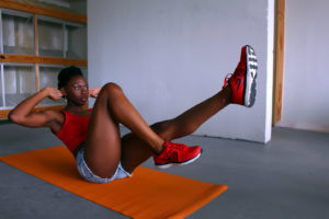 Fitness shoot of Tamara Reed