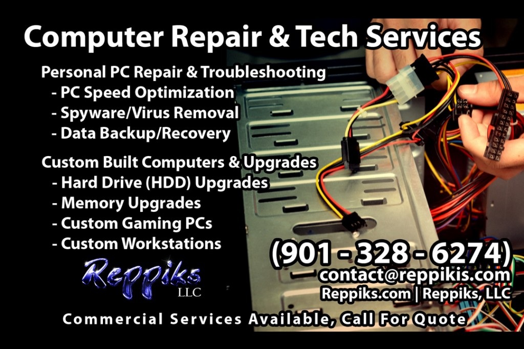 Reppiks LLC PC repair and tech services